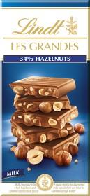 Bild på Lindt Les Grandes Mjölk 34 % Hasselnöt 150 g