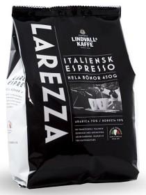 Bild på Lindvalls Kaffe Larezza Espresso Hela Bönor 450 g