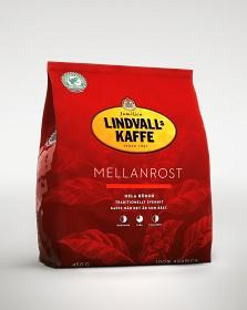 Bild på Lindvalls Kaffe Mellanrost Hela Bönor 450 g