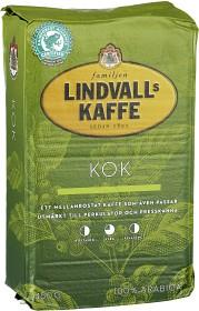 Bild på Lindvalls Kaffe Mellanrost Kok 450 g