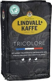 Bild på Lindvalls Kaffe Tricolore 450 g