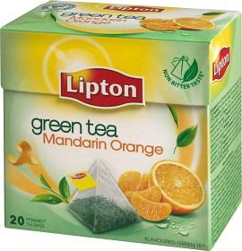 Bild på Lipton Grönt Te Mandarin & Apelsin Pyramid 20 p