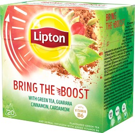 Bild på Lipton Green Tea Bring the Boost 20 tepåsar