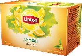 Bild på Lipton Black Tea Lemon 20 tepåsar