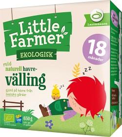 Bild på Little Farmer Mild Naturell Havrevälling 18M 650 g