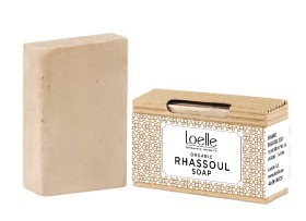 Bild på Loelle Rhassoul Soap Bar 75 g