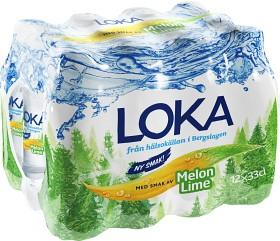 Bild på Loka Melon Lime 12x33 cl Flaska inkl. Pant