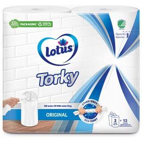 Bild på Lotus Hushållspapper Torky 2-pack
