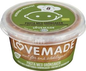 Bild på Lovemade Pasta med Grönsaker 8M 180 g