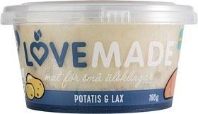 Bild på Lovemade Potatis & Lax 6M 180 g