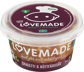 Bild på Lovemade Spagetti & Köttfärssås 8M 180 g