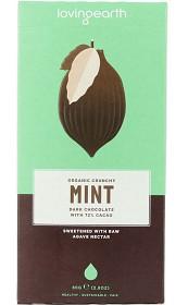 Bild på Loving Earth Mint Dark Chocolate 80 g