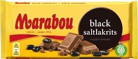 Bild på Marabou Black Saltlakrits 180 g
