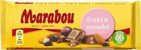 Bild på Marabou Frukt & Mandel 100 g