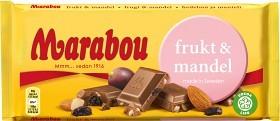 Bild på Marabou Frukt & Mandel 200 g