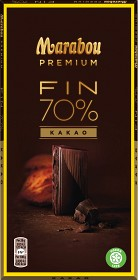 Bild på Marabou Premium Dark 70% 100 g