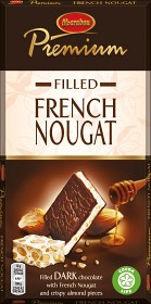Bild på Marabou Premium Filled French Nougat 130 g
