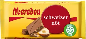 Bild på Marabou Schweizernöt 24 g