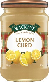 Bild på Mackays Lemon Curd Marmelad 340 g