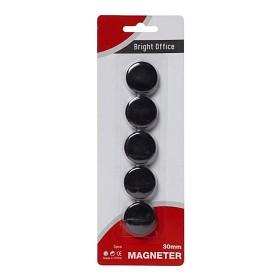 Bild på Magneter Svarta 30 mm 5-pack