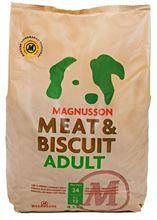 Bild på Magnusson Meat & Biscuit Adult 4,5 kg