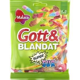 Bild på Malaco Gott & Blandat Supersur 170 g