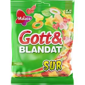 Bild på Malaco Gott & Blandat Sur 170 g