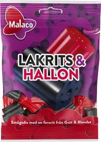 Bild på Malaco Lakrits & Hallon 70 g
