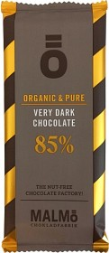 Bild på Malmö Chokladfabrik Ö Very Dark 85% 55 g