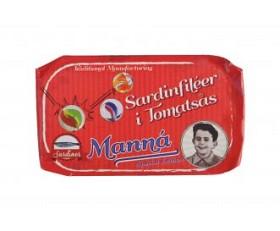Bild på Manná Sardinfiléer i Tomatsås 120 g