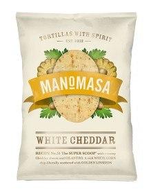 Bild på ManoMasa White Cheddar 160 g