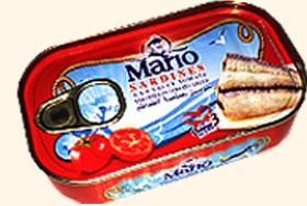 Bild på Mario Sardiner i Tomatsås 125 g