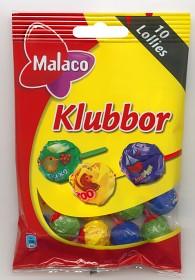 Bild på Malaco Klubbor 10 st