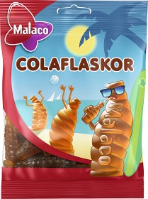 Bild på Malaco Colaflaskor 80 g