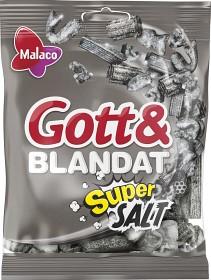 Bild på Malaco Gott & Blandat Supersalt 170 g