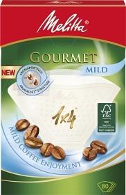 Bild på Melitta Kaffefilter Gourmet Mild 1x4 Vita 80 st