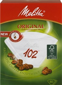 Bild på Melitta Kaffefilter Original 102 Vita 80 st