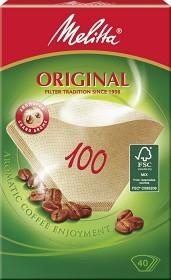 Bild på Melitta Kaffefilter Original 100 Oblekta 40 st