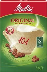 Bild på Melitta Kaffefilter Original 101 Oblekta 40 st