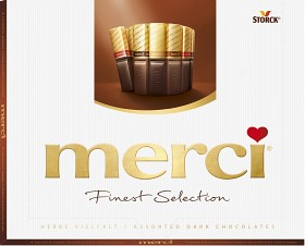 Bild på Merci Mörka Chokladpraliner 250 g