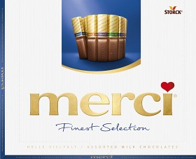 Bild på Merci Mjölkchokladpraliner 250 g