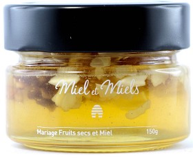 Bild på Miel et Miels Honung - med Mandlar & Valnötter 150 g
