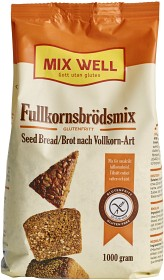 Bild på MixWell Fullkornsbrödsmix glutenfri 1000 g