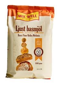 Bild på MixWell Ljust basmjöl glutenfritt 1000 g