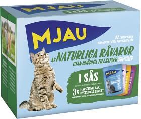 Bild på Mjau Kött/Fisk i Sås Multibox 12 p