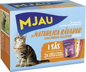 Bild på Mjau Kött i Sås Multibox 12 p