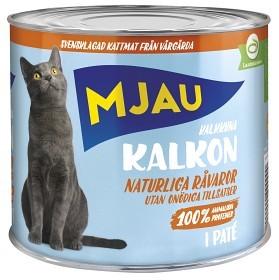 Bild på Mjau Kalkon i Paté 635 g