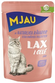Bild på Mjau Lax i Gelé 85 g