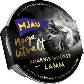 Bild på Mjau Noga Utvalt Lamm i Mousse 85 g