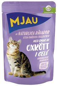 Bild på Mjau Oxkött i Gelé 85 g
